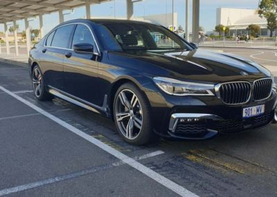 BMW 7 series long wheel base try it for the ultimate in luxury for transfers around the city of Adelaide or touring the sights