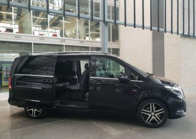 Mercedes V Class a very popular VIP vehicle. The ultimate in touring enjoy anyone of South Australia's 5 wine regions.