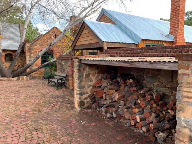 Historic buildings at Rockford wines, 131 Krondorf Rd, Tanunda SA 5352
