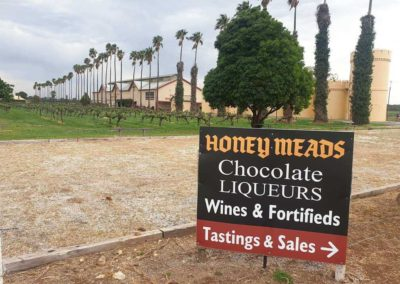 Honey Meads Chocolate liqueurs a favourite stop on any Grandeur limo tour of wineries in the Barossa Valley