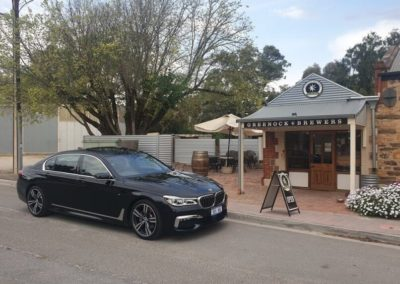 A favourite pit stop for a cleansing ale on all Grandeur limos tour of wineries in the Barossa Valley, Geenock Brewers